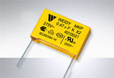 CLASS X2-MKP  0,1 mkf-275 VAC (±10%)  P:15mmWeidy