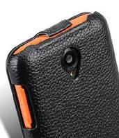 Чехол-книжка для телефона Lenovo S750 (Jacka leather case black Melkco)