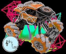 Трюковая Машинка Вездеход Fever Buggy4WD Оранжевая 4x4 На Радиоуправлении 2.4 GHz Масштаб 1:16, фото 3