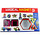 Детский магнитный развивающий конструктор Magical Magnet 40 деталей, фото 2