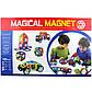 Детский магнитный развивающий конструктор Magical Magnet 40 деталей, фото 6