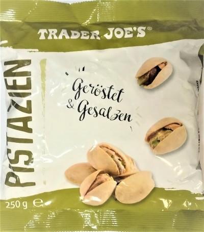 Фисташки Trader Joes Pistazien ohne Salz 250 г