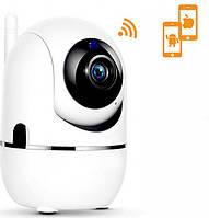 Беспроводная поворотная IP камера WiFi microSD UKC Y13G с распознаванием лиц