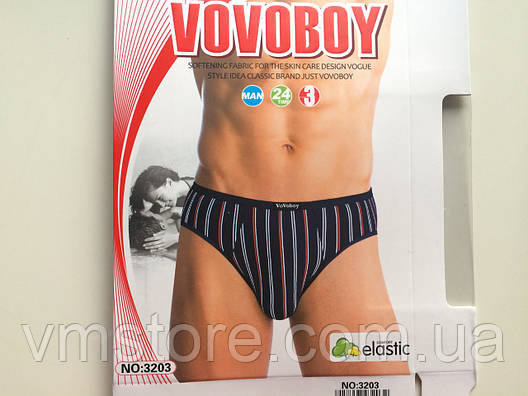 Мужские плавки, Vovoboy, 3шт в упаковке, оптом, фото 2