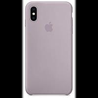 Silicone case Iphone xs max Lavender, Лаванда, Мягкий чехол