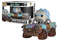 Фигурка Funko Pop Фанко Поп Rick and Morty Mad Max Rick Рик и Морти Рик сумасшедший Макс 13 см - 222183