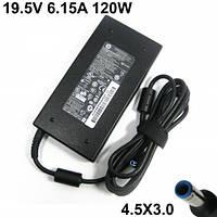 Блок питания для ноутбука HP/Compaq 19.5V 6.15A 120W ( 4.5mm*3.0mm pin inside blue) Original