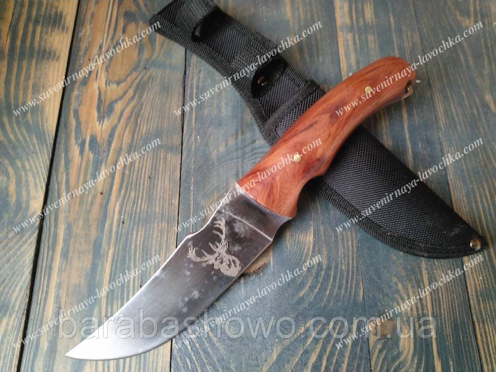 Нож нескладной 1996 Олень Охотничий, надежный