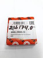 Подшипник 215525.0, 216174.0 Claasшариковый FAG 6006-2RS C3 Германия, фото 1