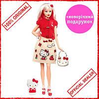 "Кукла Barbie коллекционная ""Hello Kitty"" DWF58"