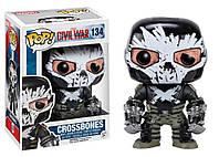 Фигурка Funko Pop Фанко Поп Капитан Америка Кроссбоунс Captain America Crossbones 10 см - 222286