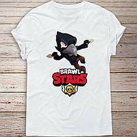 Детская футболка Ворона Бравл Старс (Crow, Brawl stars)