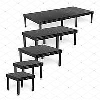 Сварочный монтажный стол Professional 750 с диагональной сеткой отверстий