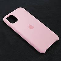 Чехол Silicon case для Iphone 11 Розовый