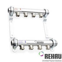 Распределительный коллектор Rehau HLV 4 (без расходомеров)
