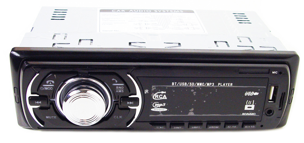 Автомагнитола GT-680U ISO USB MP3 с Bluetooth