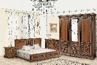 """Спальня """"Тоскана Нова"""" від Скай (горіх італійський з золотою патиною)"""