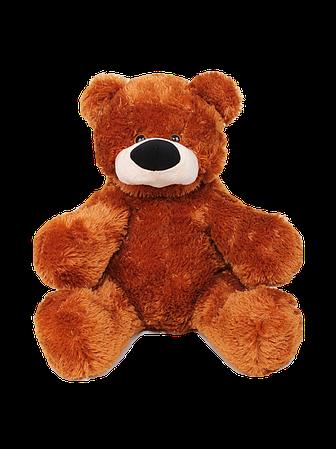 М'яка іграшка ведмедик Бублик 55 см Коричневий