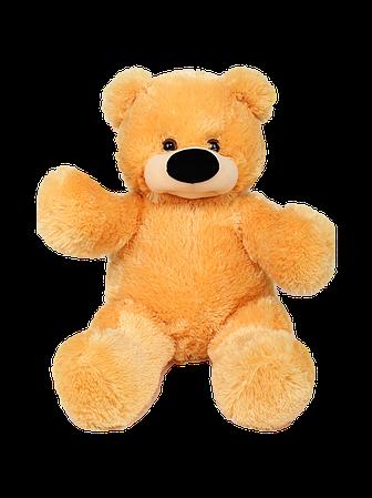 М'яка іграшка ведмедик Бублик 55 см Рудий