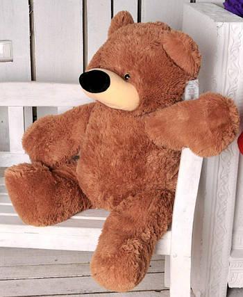 М'яка іграшка ведмедик Бублик 70 см Коричневий