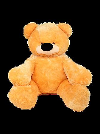 М'яка іграшка ведмедик Бублик 110 см Рудий