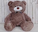 Большой плюшевый медведь Джеральд 165 см Капучино, фото 6