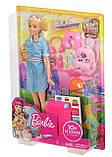Кукла Барби путешественница набор блондинка Barbie Travel Doll Blonde Лялька Барбі подорож набір, фото 6