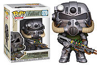 Фигурка Funko Pop Фанко Поп Fallout T-51 Power Armor Фаллаут Силовая броня Т-51 10 см - 222460