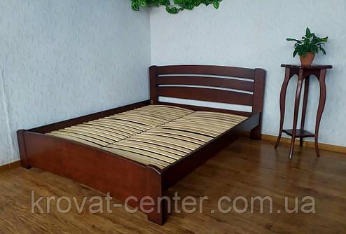 """Ліжко півтораспальне з натурального дерева від виробника """"Мартіні"""", фото 2"""