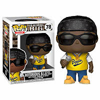 Фигурка Funko Pop Фанко Поп Рок Ноториус Биг Rocks Notorious B.I.G. 10 см - 222887