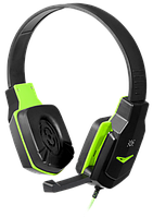 Гарнитура IT DEFENDER (64032)Warhead G-320 чёрный + зелёный  1.8м, фото 1