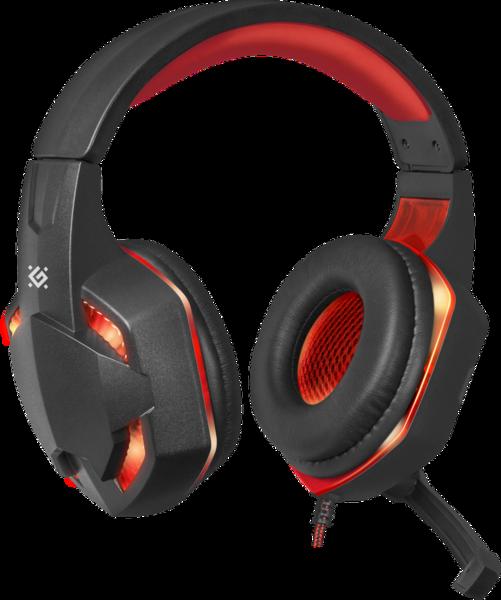 Гарнитура IT DEFENDER (64037)Warhead G-370 2,5м черно красный