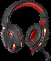 Гарнитура Defender Warhead G-370 Black+Red (64037)