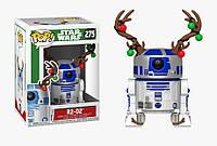 Фигурка Funko Pop Фанко Поп Звездные Войны Праздничный Арту-Диту Star Wars R2-D2 10 см - 222167