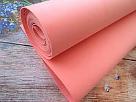 Фоамиран для ростовых цветов, 2 мм, 1х4 м, цвет РОЗОВЫЙ