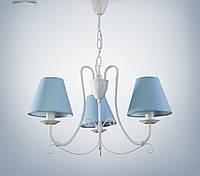 Люстра 3-х ламповая для спальни, детской