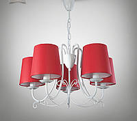 Люстра 5-ти ламповая для зала, спальни, детской  13605