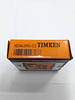 Подшипник 215540.0 Сlaas 87000620414 Oros 6204-2RS C3 Timken США, фото 1