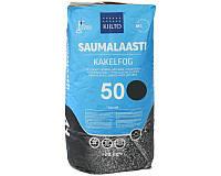Затирка цементная KIILTO для швов плитки №50 - черная 20кг
