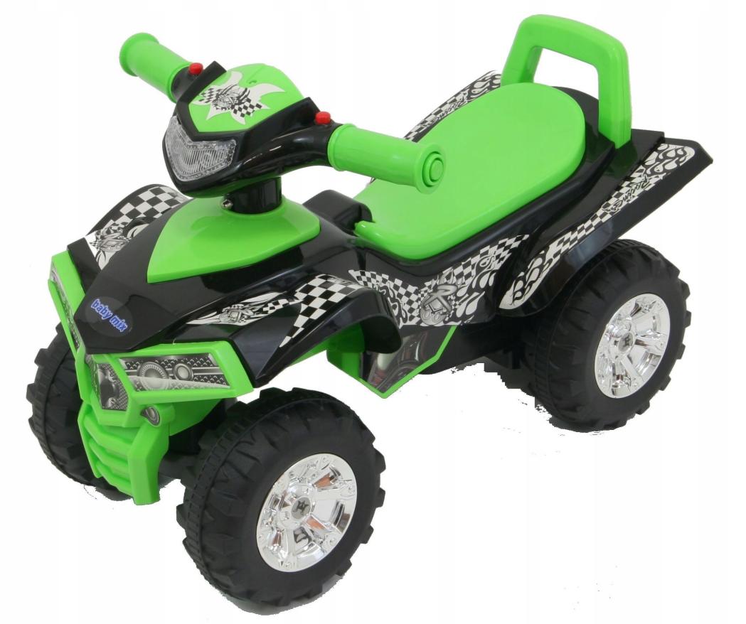 Детский автомобиль Baby Mix зеленый