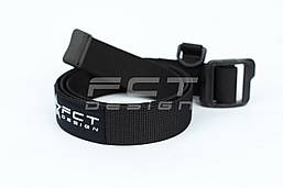 Ремень тактический FCT черный с кольцом