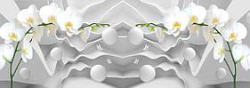 """3D фотообои """"Нежные орхидеи"""""""