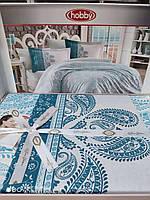 Семейный комплект постельного белья поплин 200*220 см