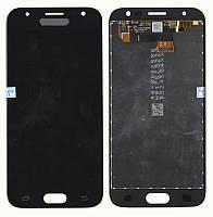 Дисплейный модуль (экран) для Samsung J330 J3 ( J2017) Чёрный LCD TFT, с регулировкой яркости