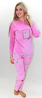 Ночная женская пижама Сладкие сны розовая, яркая и стильная одежда для дома, молодежная пижама супер качества