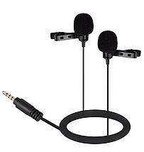 Петличний мікрофон для MacBook, iMac, iPhone і інших смартофонів., фото 2