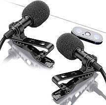 Петличний мікрофон для MacBook, iMac, iPhone і інших смартофонів., фото 3