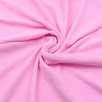 Велюр х/б светло-розового цвета