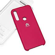 Cиликоновый чехол на Huawei P Smart Z Soft-touch Bordo