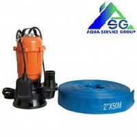 Фекальный насос для выгребных ям и колодцев Power Craft 1.3 кВт